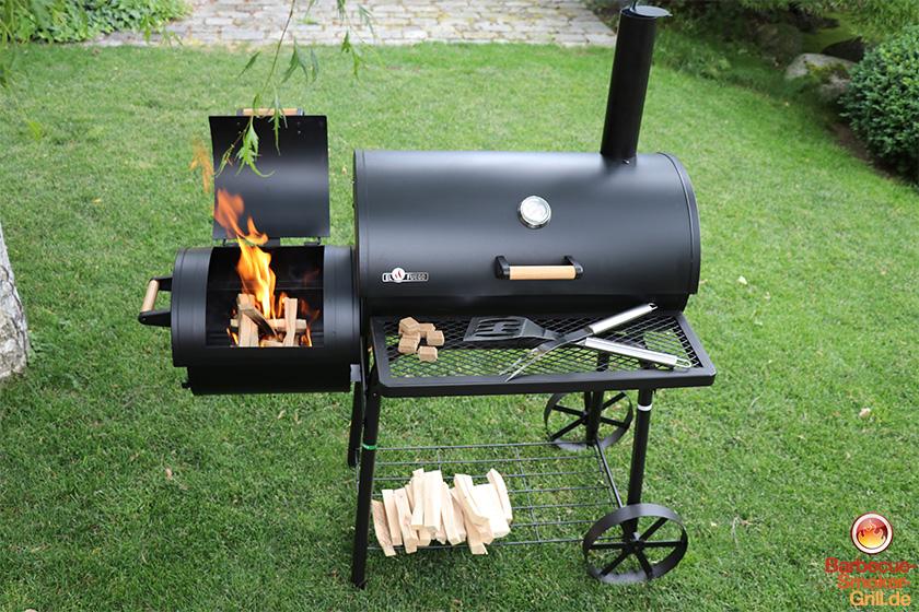 Landmann Holzkohlegrill Black Taurus 660 Test : Smoker grill test videos und bilder smoker kaufen