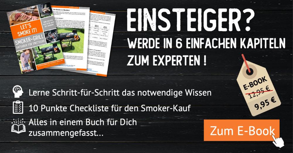 Let´s smoke it! Smoker-Grill für Einsteiger
